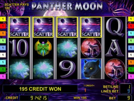 Игровой автомат Panther Moon - играть онлайн ...