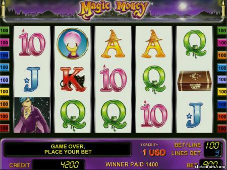 игровой автомат магия денег бесплатно без регистрации