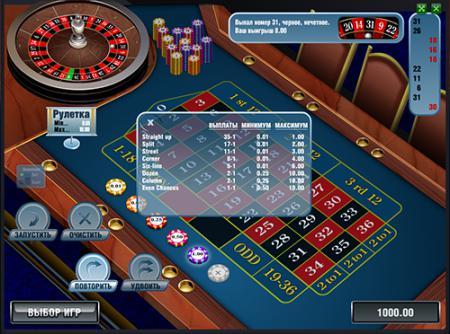 Игра европейская рулетка в онлайн ...