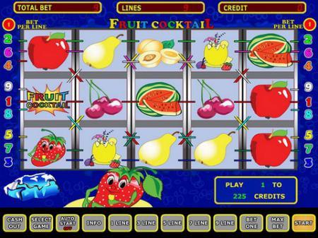 Игровые автоматы Клубничка [FruitCocktail]