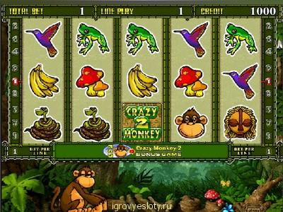 Crazy Monkey обезьянки играть бесплатно в ...