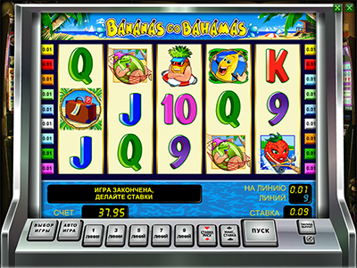 Bananas go Bahamas игровой автомат про бананы ...
