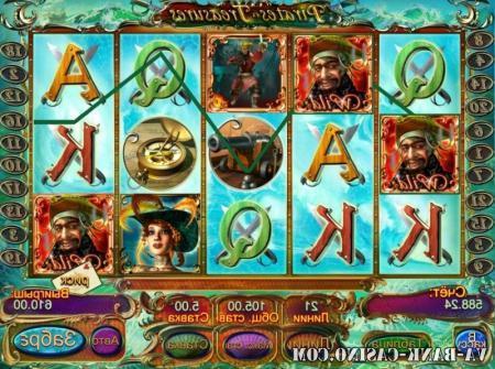 Играть в игровые автоматы пираты