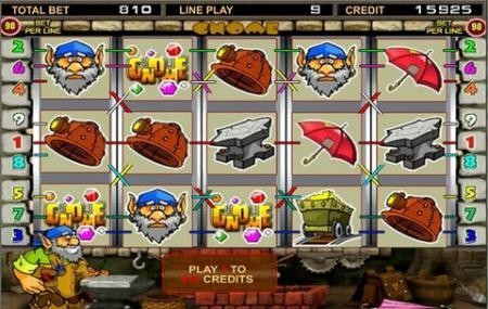 Гном играть онлайн автоматы