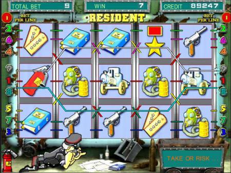 автомат резидент онлайн играть