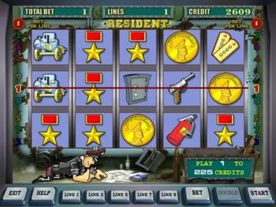 Играть онлайн бесплатно автоматы без регистрации резидент