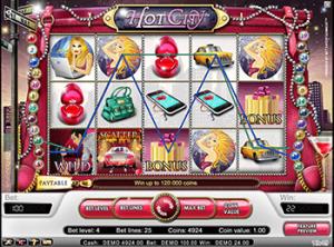 Игровой автомат горячий город