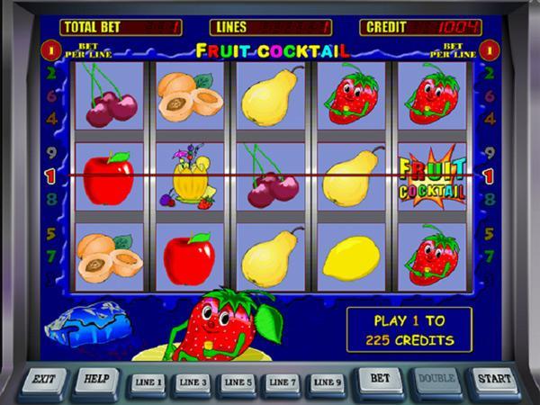 Игровые автоматы фрукт коктейль играть бесплатно
