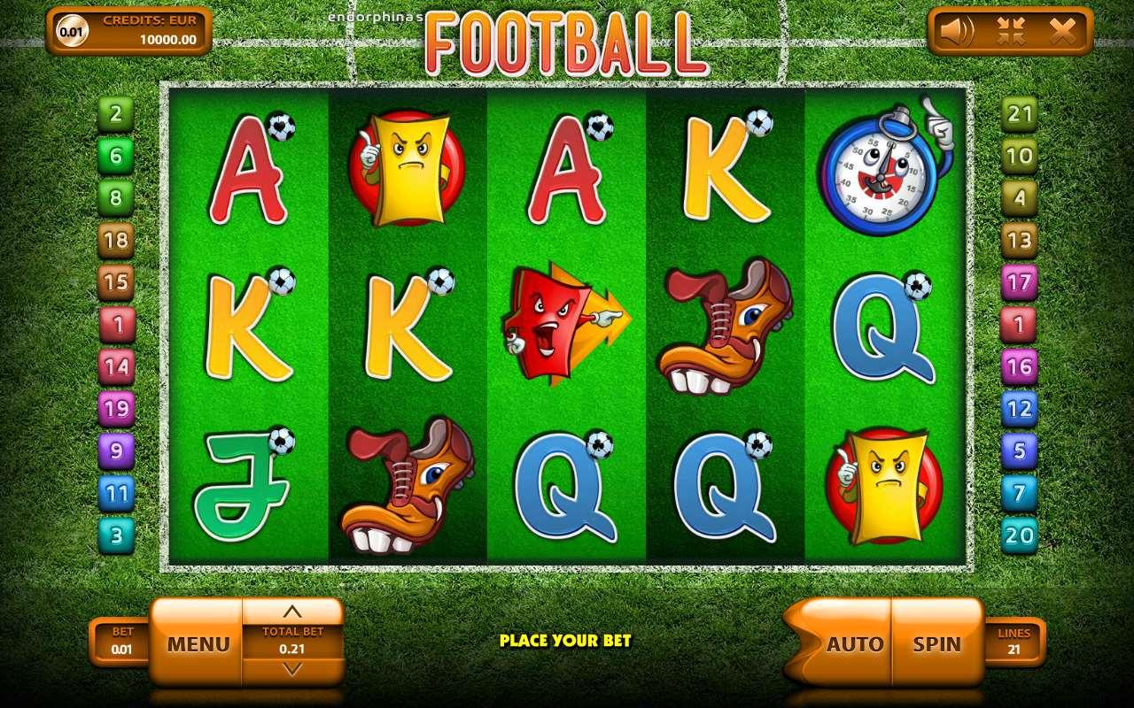 Игровые автоматы слоты футбол играть бесплатно без регистрации онлайн